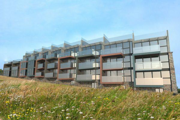 Contemporary Clifftop Homes