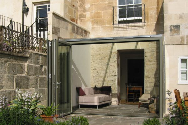 Frameless Glass Conservatory