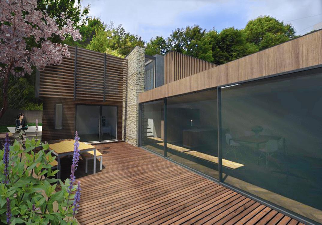 Contemporary New House