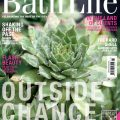 Photograph of the front cover of Bath Life magazine 31st March 2017, flowers on the cover to show spring issue