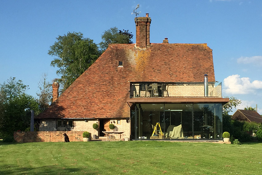 On Site: Kent farmhouse extension