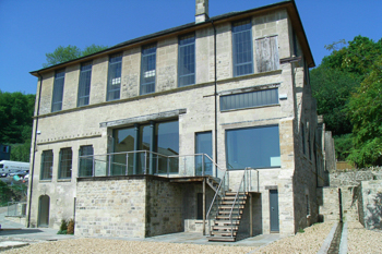Image of the converted De Montalt Mill.