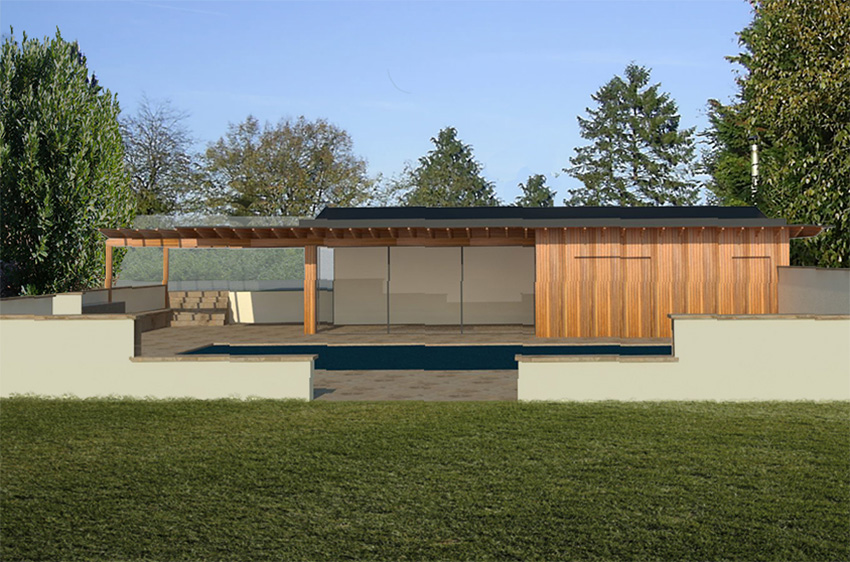On Site: Contemporary poolside pavilion