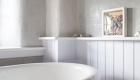 Image of bathroom refurbishment showing self standing bathtub