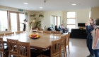 Image of a bright communal living and dining area