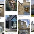 Pinterest board showing images of extensions